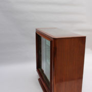 1750-Vitrine basse SM Maxime Old cuir rouge 00010