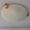 A Pair of Fine French Art Deco Flush Mount / Wall Sconce by Jean Perzel
