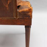 1724-Fauteuil de bureau 1925 avec grecque10