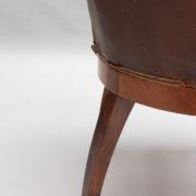 1724-Fauteuil de bureau 1925 avec grecque11