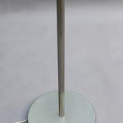 1805-Lampadaire Perzel nickle presque tout metal 4