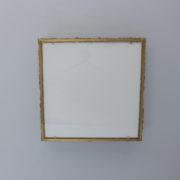 1809-Plafonnier Perzel collier de la reine carre dore grand 13