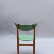 1824-4 chaises 50's vert d'eau (10)
