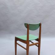 1824-4 chaises 50's vert d'eau (9)