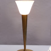 1844-Lampe a poser Perzel classique patine medaille (14)