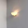 Fine French Art Deco Glass and Bronze Sconce by Jean Perzel