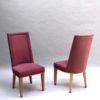 44 Fine French 1950s Dining Chairs by Jacques Adnet