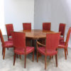 Fine French Art Deco Extendable Round Dining Table by Jules Leleu