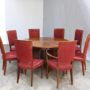 1766-Salle a manger Leleu table soleil (6)