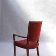 1766a-6 chaises et 2 fauteuils SM Leleu table soleil00013