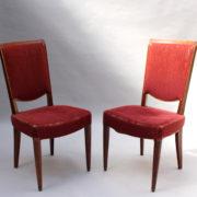 1766a-6 chaises et 2 fauteuils SM Leleu table soleil00021