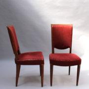 1766a-6 chaises et 2 fauteuils SM Leleu table soleil00023