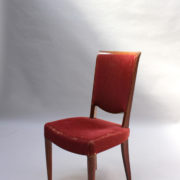 1766a-6 chaises et 2 fauteuils SM Leleu table soleil00025
