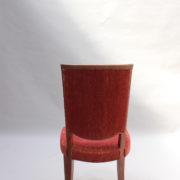 1766a-6 chaises et 2 fauteuils SM Leleu table soleil00028