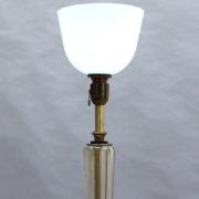 1842-Lampadaire pied en croix dore fut Murano15