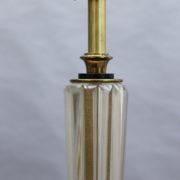 1842-Lampadaire pied en croix dore fut Murano16