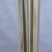 1842-Lampadaire pied en croix dore fut Murano5