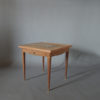 Fine French Art Deco Palisander Game Table by Jules Leleu