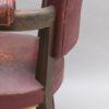 A fine French Art Deco Beech Desk Chair