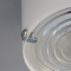 2 Fine French 1950s Cylindrical Flush Mount by Jean Perzel