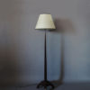 A Fine French Art Deco Rosewood Floor Lamp