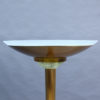 Fine French Art Deco Bronze and Glass Floor Lamp by Jean Perzel