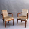 A Pair of Fine French Art Deco Rosewood Armchairs