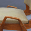 3 French 1950s Oak Chairs by Ségalot