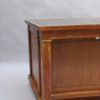 A Fine French 1950's Mahogany Curved Desk by Jacques Adnet (2 available)