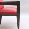 4 Fine French Art Deco Armchairs by Andre Sornay