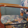 Pair of French Art Deco Stained Beech Armchairs