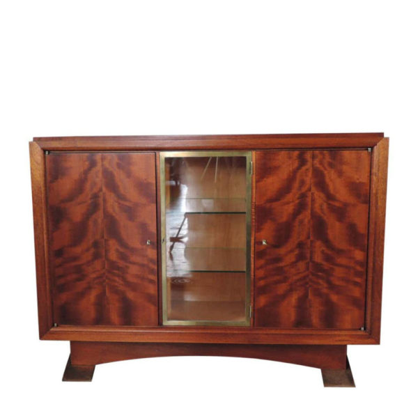 Fine French Art Deco Mahogany Buffet by Albert Guenot for