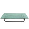 French 1950s Perforated Metal Coffee Table in the Style of Mathieu Mategot