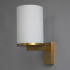 5 Fine French Art Deco Glass and Bronze Cylindrical Sconces by Jean Perzel