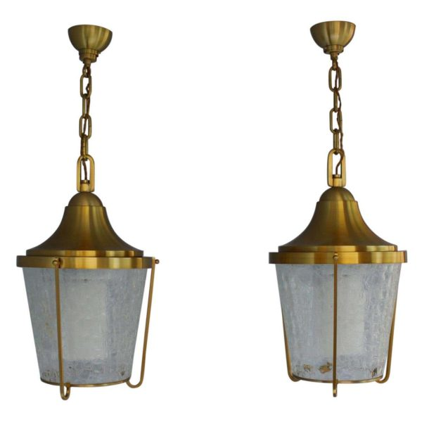 A Pair of Hanging Bronze and