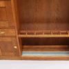 A Rare Entryway Coat, Umbrella & Storage Cabinet by Francis Jourdain