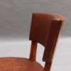 Set of 10 Fine French Art Deco Mahogany Dining Chairs